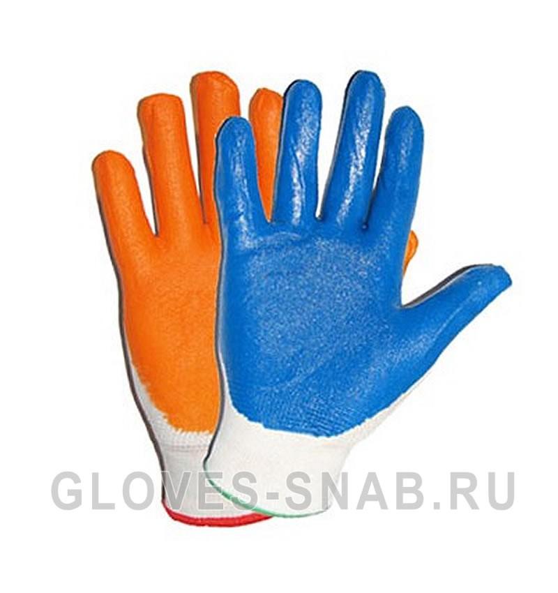 Перчатки Нейлоновые с нитриловым покрытием (эконом)